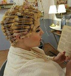 My favorite perm wrap technique Home Perm, Curly Perm, Getting A Perm, Wet Set, Curlers, Perm Rods, Roller Set, After Life, Permed Hairstyles