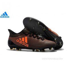 save off 1b9c6 fd741 adidas X 17.1 FG S82288 MENS Core Black/Solar Red/Solar Orange SALE  FOOTBALLSHOES