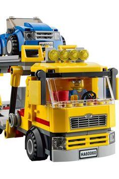 Lego, Autos, Car Carrier, Legos