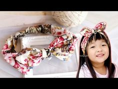 DIY Cotton Headband Tutorial - How To Make A Headband Out Of Fabric - YouTube