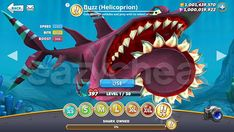 Hungry Shark World Cheat - Unlimited Coins, Unlimited Gems, All Sharks Unlocked Shark Facts For Kids, Sharks For Kids, World Generator, All Sharks, Game Data, Free Gems, Cheating, Pikachu, Geek Stuff