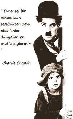 OĞUZ TOPOĞLU : evrensel bir nimet olan sessizlikten zevk alabilen... Meaningful Sentences, Good Sentences, Meaningful Words, Book Quotes, Words Quotes, Life Quotes, Sayings, Charlie Chaplin, Indian Army Quotes