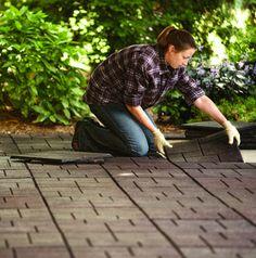 Outdoor tiles can improve walkway or patio Outdoor Tiles, Outdoor Flooring, Outdoor Rooms, Outdoor Living, Landscaping Ideas, Backyard Ideas, Garden Landscaping, Garden Ideas, Cabin Ideas