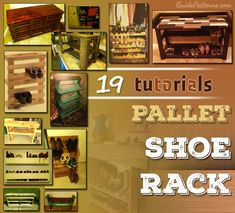 a 19 Pallet Shoe Rack Tutorials Unique Home Decor - Thinking Outside the Box Home accents and surrou Amazing Gardens, Beautiful Gardens, Gloss Paint, Outdoor Venues, Palette, Home Comforts, Thinking Outside The Box, Water Supply, Diy Garden Decor