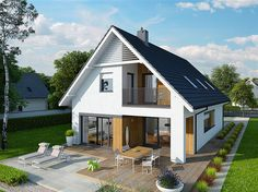 Things To Keep In Mind Before Considering Home Renovation Contract – Home Dcorz Family House Plans, Modern House Plans, Modern House Design, Future House, My House, Bungalow Conversion, Bungalow Extensions, Bungalow Renovation, Facade House
