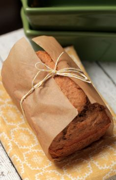 "Perfectly moist,  naturally-sweetened, and absolutely delicious. Gluten-free, ""Almond Flour Banana Bread"". Live Simply"