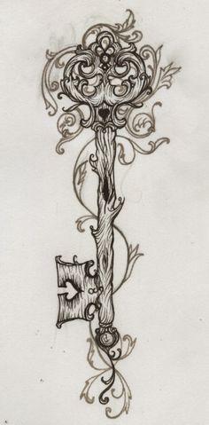 kootation.blogspot.com: key tattoo