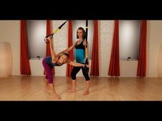 TRX Yoga Workout | Bikini Body | POPSUGAR Fitness