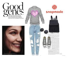 """Bez naslova #300"" by woman-1979 ❤ liked on Polyvore featuring Topshop and Converse"