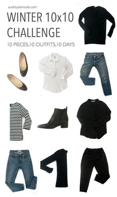 Love this capsule wardrobe challenge. Minimalist me your wardrobe clutter by creating a capsule wardrobe. Love this capsule wardrobe challenge. Minimalist me your wardrobe clutter by creating a capsule wardrobe. Capsule Wardrobe 2018, Wardrobe Basics, 10 Piece Wardrobe, Capsule Outfits, Travel Outfits, Work Wardrobe, Fall Travel Wardrobe, French Capsule Wardrobe, Black Wardrobe