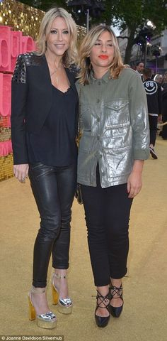 All Saints bandmates Nicole Appleton and Melanie Blatt