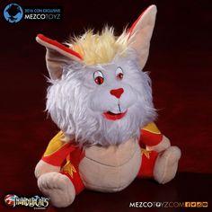 "Mezco ""ThunderCats"" Snarf plush"