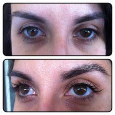 Partial lash extensions by Alyssa McKenzie for Radura Salon & Spa