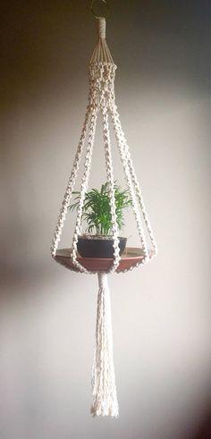 Planta De Macrame Suspension Elliott Colgante Macrame Plant