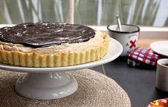 13. Honey Almond Butter Chocolate Tart   13 Tart Recipes To Showcase Spring