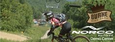 Burke Mountain, VT: another favorite place to mountain bike for Derek.