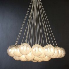 Orb pendant light
