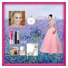 """""""Prom"""" by bellaclairecassedemont ❤ liked on Polyvore featuring Sherri Hill, René Caovilla, Tiffany & Co., Too Faced Cosmetics, Gucci, Bobbi Brown Cosmetics, Diane James, Butter London and Chanel"""