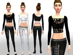 The Sims Resource: Girl on the Throne set by Weeky • Sims 4 Downloads