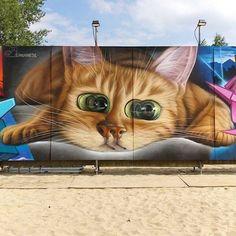 Die illusionistischen Murals von Insane51 Der Street Artist Insane51 hat einen ganz besonderen Stil. Nicht nur zeichnen sich seine Werke durch einen erstaunlichen Fotorealismus aus, sie weis...