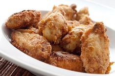 Cajun Fried Chicken Wings.