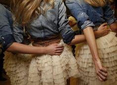 Cowgirl Bridesmaids. Love. Love. Love.