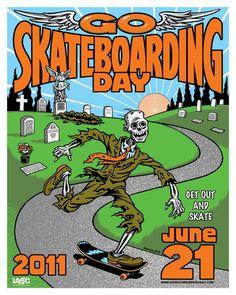 Jim Phillips GSD2 Go Skateboarding Day 2011