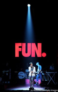 UNIVERSAL CITY, CA - JUNE 01:  Singer Nate Ruess of Fun performs at rehears...  Nate Ruess of fun. YUMMMM!!!! ~,~ Celebrity Celebrities band bands groups music singing acoustic tour hot Nate Ruess (fun.) Obsession! ~,~