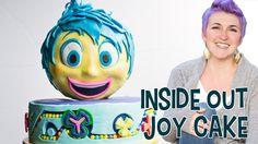 How to make an Inside Out Joy Cake