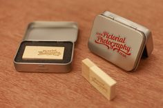 "Another excellent ""package"" of gift box and wooden USB stick for a professional photographer"