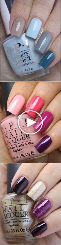 Essie, Cute Nails, Pretty Nails, Nagellack Design, Manicure E Pedicure, Opi Nails, Shellac, Nail Polish Colors, Opi Polish