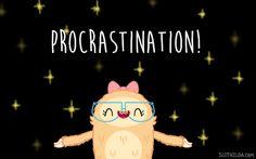 Slothilda Sloth Procrastination