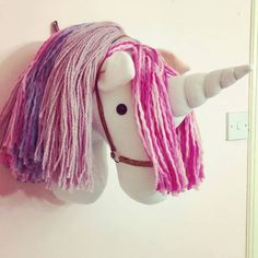 Unicorn wall mount. Faux Taxidermy Wall Mounted Animal Head by Florenceandthefox on Etsy