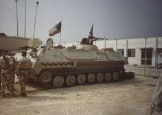Iraqi MT-LBu now as a War Trophy, Operation Desert Storm.