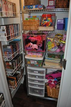 Beau Coat Closet Turned Into Organized Toy Closet | Organize | Pinterest | Toy,  Organizations And Playrooms