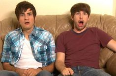 Smosh (Anthony Padilla and Ian Hecox) Markiplier, Pewdiepie, Funny People, Good People, Smosh Games, Famous Youtubers, Joey Graceffa, Phil Lester, Youtube Stars