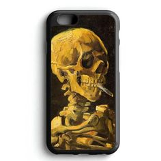 Vintage Van Gogh Skull iPhone 7 Case