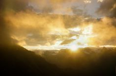https://flic.kr/p/fLTmjp | Sonnenuntergang über den Alpen 3