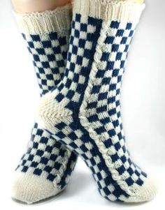 Love this pattern!!!  Louis Vuitton-Inspired Socks Pattern by Christina Rowell - only 1.99