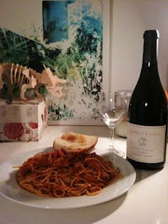 2009 Syrah and Chicken Parmigiana, compliments of Krizia