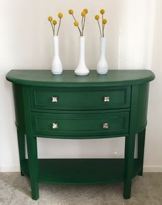 Wild Clover, new Limited Edition color from Country Chic Paint Green Painted Furniture, Deco Furniture, Furniture Ideas, Salvaged Furniture, Timber Furniture, Painting Furniture, Colorful Furniture, Furniture Inspiration, Furniture Makeover