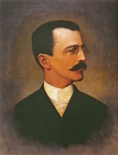 Portrait of Ezequiel Freire by Jose Ferraz de Almeida Junior