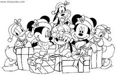 christmas disney coloring pages - Buscar con Google