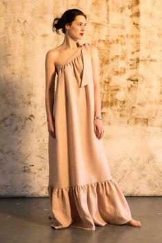 Super Cute Dresses, Simple Dresses, Casual Dresses, Fashion Dresses, Womens Linen Dresses, Parisienne Style, Freya, Diy Dress, Elegant Outfit