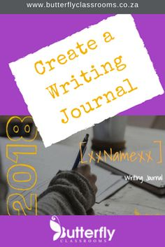 I created a Writing Journal on Google Slides. The aim is to get learners to write more without making the teacher's admin more. Free Teaching Resources, Learning Activities, Afrikaans, Educational Technology, Teaching English, Karma, Butterfly, Classroom, Teacher