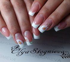 195 Likes 3 Comments nail artist свою работу (Olga Stognieva French Nails, French Manicure Nails, Fall Nail Art Designs, Beautiful Nail Designs, Cute Nails, Pretty Nails, Pink Nails, My Nails, Hello Nails