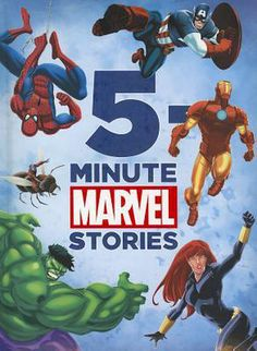 Book Review: 5-Minute Marvel Stories