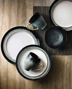 Artisan Obsessed: It takes hours of meticulous handcraftsmanship to achieve that perfectly imperfect dual-glazed look of every plate, bowl and mug in this collection by Denby ― but that's nothing compared to the 200 years it took to refine the glaze itself.