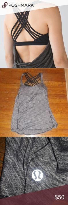 Lululemon Wild Tank Never worn Color is Heathered slate lululemon athletica Tops Tank Tops