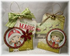 Quick and Easy Christmas Tags